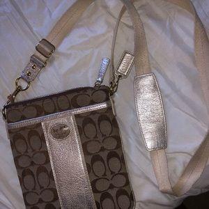 Coach crossbody satchel purse